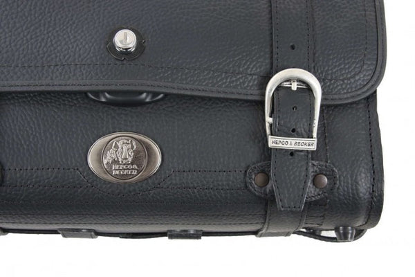 Small Leather Bag 28L Buffalo by Hepco Becker