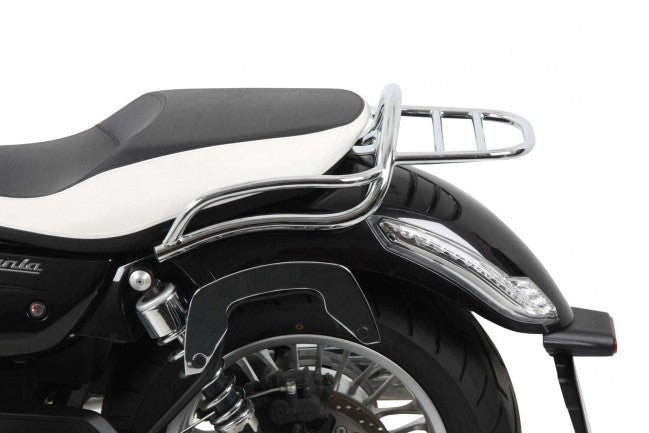 MotoGuzzi California 1400 Custom & Touring Tube Top case carrier chrome Hepco Becker - Bike 'N' Biker