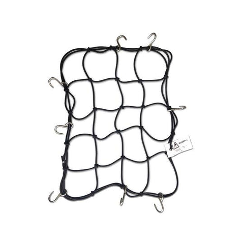 Metal Hook Bungee Net - 4mm - Mototech