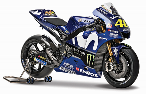 Maisto Moto GP Team Yamaha 2018 1:18 Scale Model