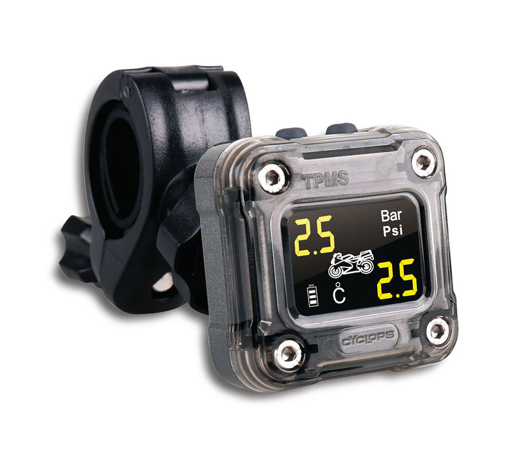 Motorcycle Tyre Pressure Monitoring System Cyclops