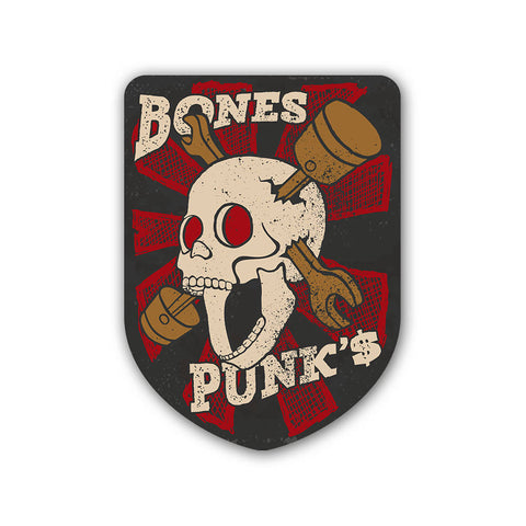 Bones & Punks - Sticker - Inline-4