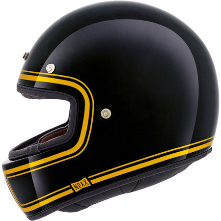 Nexx X.G100 Garage Devon Helmet - Black/Gold