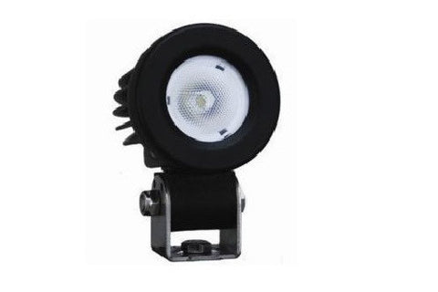 Aux LED 2 inch 10 Watt Round LED PRIME Cyclops Adventure - Bike 'N' Biker