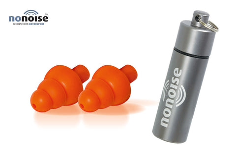 Noise filtration Precision Ear Plugs by NoNoise - Bike 'N' Biker