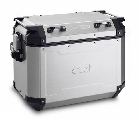 Trekker Outback 48 Side Cases Silver - Givi
