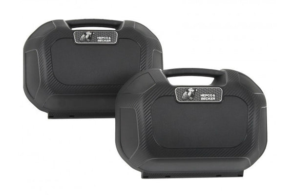 Sidecases 22L Orbit (C-Bow Carrier Only, Pair) - Bike 'N' Biker