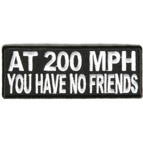 At 200MPH Patch - Bike 'N' Biker