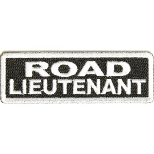 Road Lieutenant Patch - Bike 'N' Biker