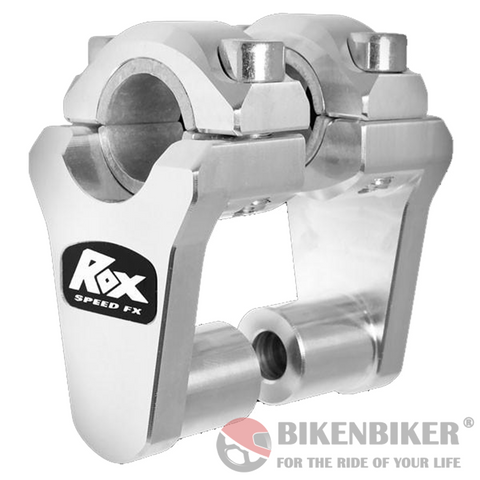 "2"" Pivoting Bar Risers for 7/8"" OR 1 1/8"" Handlebar - Rox Speed FX"