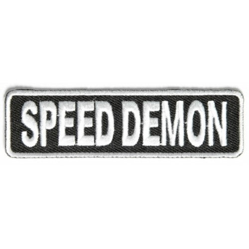Speed Demon Patch - Bike 'N' Biker