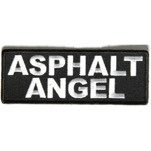 Asphalt Angel Patch - Bike 'N' Biker