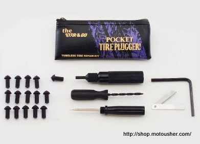 Pocket Tire Plugger For All Tubeless Tires - Bike 'N' Biker