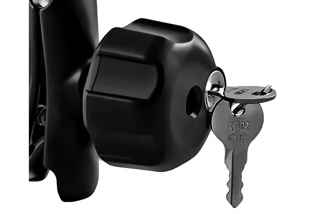 RAM Locking Knob with Brass keys - Bike 'N' Biker