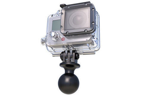 "RAM 1"" Ball with Custom GoPro® Hero Adapter - Bike 'N' Biker"