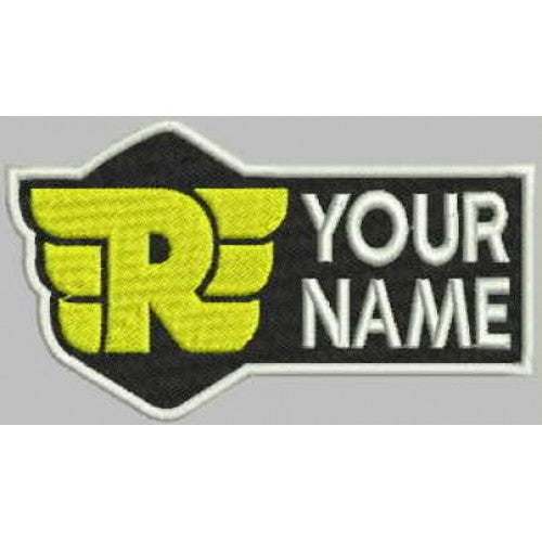 RE Name Patch - Bike 'N' Biker