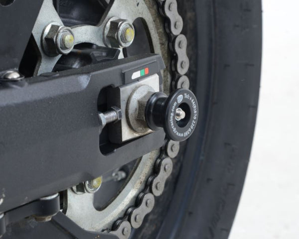 Rear Spindle Sliders for Honda Africa Twin CRF 1000L 2016- - R&G Racing - Bike 'N' Biker