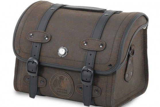 Saddlebags 25L Rugged Brown Small bag by Hepco Becker - Bike 'N' Biker
