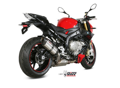 Suono Slip On Exhaust for BMW S1000R - Mivv