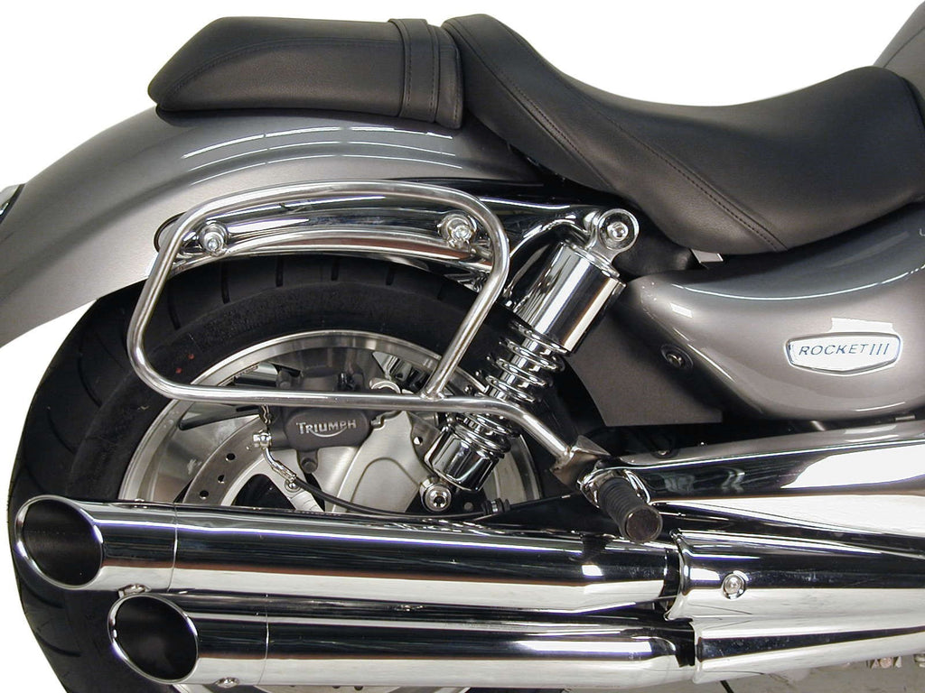 Triumph Rocket III Saddle bag tube-carrier for leather bag Hepco Becker - Bike 'N' Biker