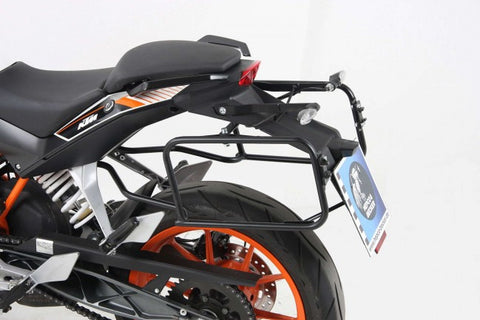 KTM 200 Duke Side carrier black Hepco Becker - Bike 'N' Biker