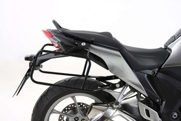 Honda VFR 1200 F Side carrier Lock it black Hepco Becker - Bike 'N' Biker