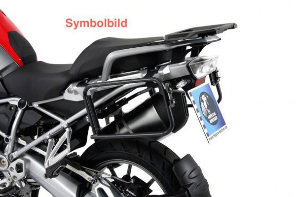BMW R1200GS Side Carrier - Quick release - Silver/Black