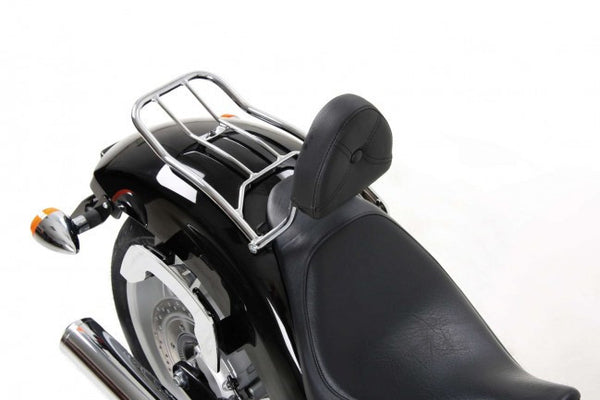 Honda VT 1300 CX Solo rack without backrest & with backrest Hepco Becker