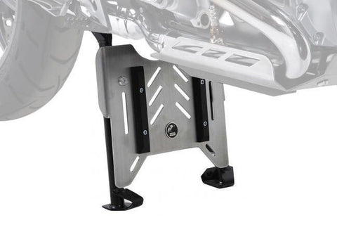 BMW R 1200 GS Center Stand protection plate Hepco Becker - Bike 'N' Biker