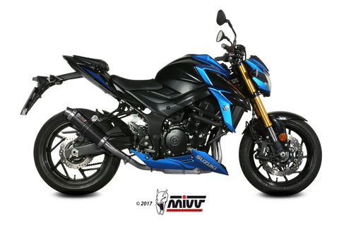 GP Slip On Exhaust for Suzuki GSX-S750 - Mivv