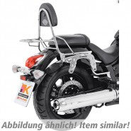 Suzuki M1800R Intruder Side carrier chrome Hepco Becker - Bike 'N' Biker