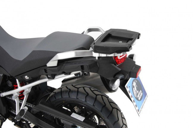 Suzuki V-Strom 1000 ABS Alu Rack top case carrier black Hepco Becker - Bike 'N' Biker