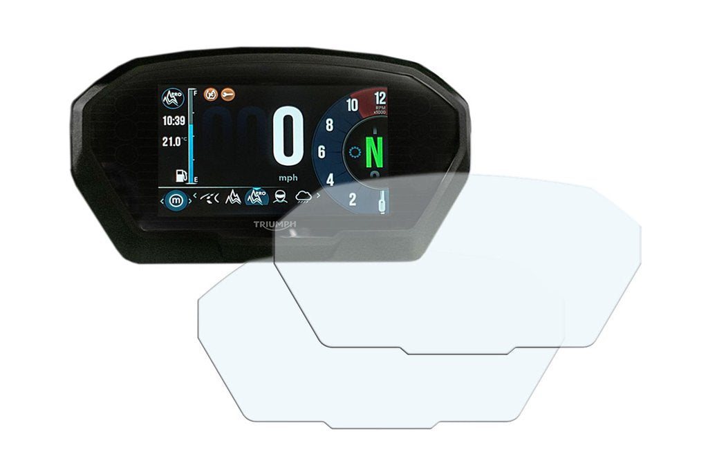 Screen Protector & Anti-glare Triumph Tiger 800/Explorer 1200 - Speedo Angels