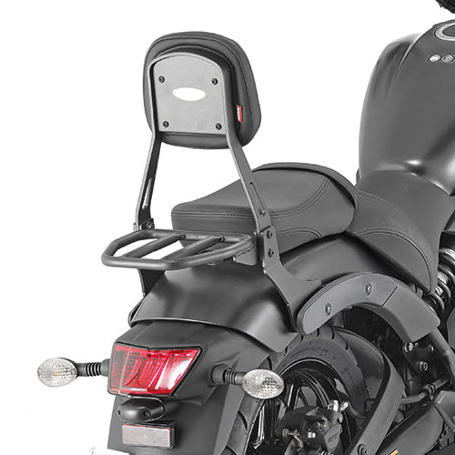 Top Rack and Backrest for Kawasaki Vulcan 650