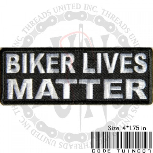 Biker Lives Patch - Bike 'N' Biker