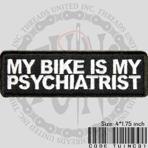 Psychiatrist Patch - Bike 'N' Biker