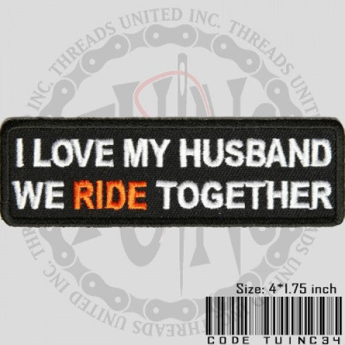 Love My Husband Patch - Bike 'N' Biker