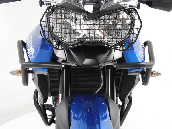 Triumph Tiger 800 Tank Guard XC, XCx, XR, XRx by Hepco Becker - Bike 'N' Biker