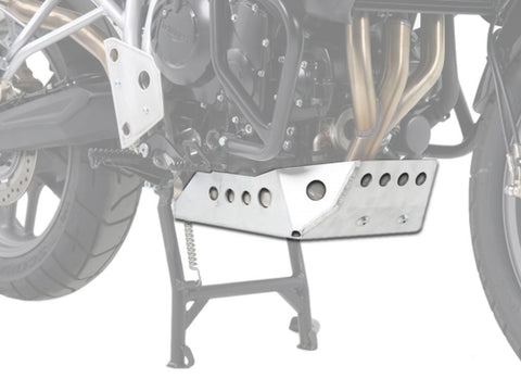 Triumph Tiger 800 Engine Protection Plate Hepco Becker
