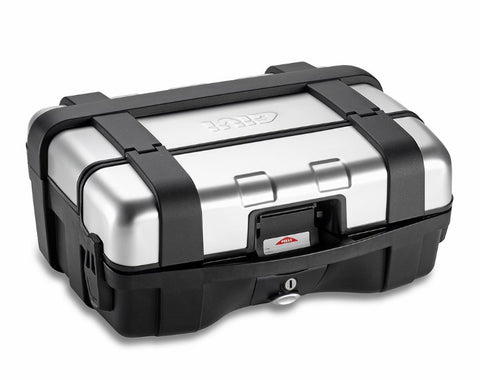 Trekker 33L Silver Top/Side Case - Givi