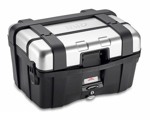 Trekker 46L Silver Top/Side Case - Givi