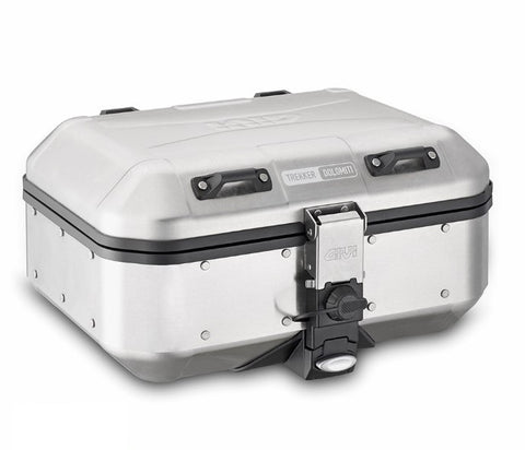 Trekker Dolomiti 30L Silver Top/Side Case - Givi