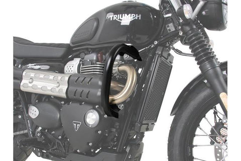 Engine Guard - Triumph Street Scrambler (2017 -) - Black - Hepco & Becker