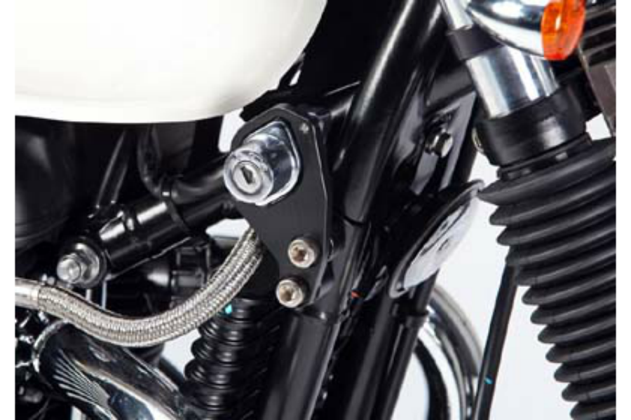 Triumph Bonneville T100 Ignition Lock Bracket - Bike 'N' Biker