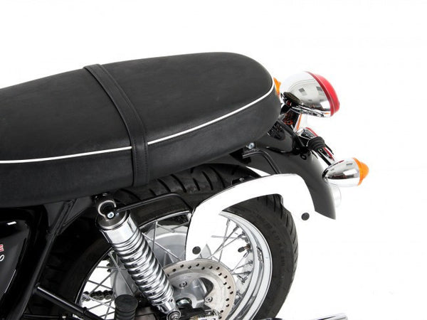 Triumph Bonneville T 100 SE C-Bow soft bag carrier Hepco Becker - Bike 'N' Biker