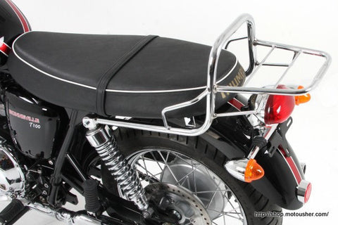 Triumph Bonneville T 100 SE Top case rack chrome Hepco Becker - Bike 'N' Biker