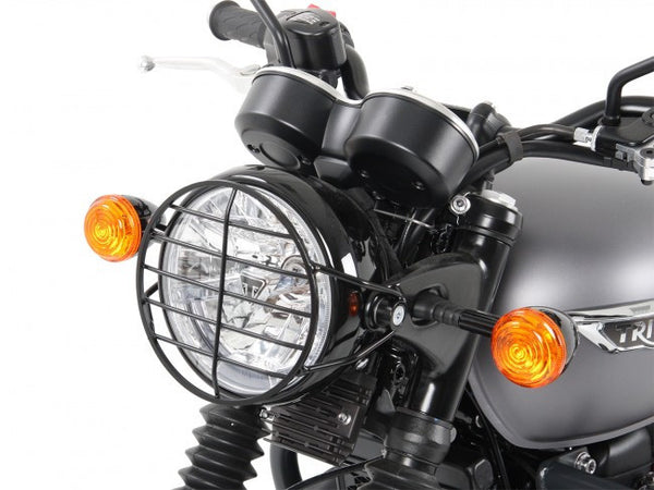 Triumph Bonneville T120 Protection - Headlight Guard - Bike 'N' Biker
