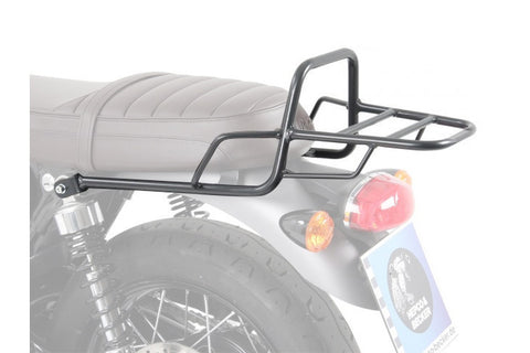 Triumph Bonneville T120 Topcase carrier Tube Type - Black - Bike 'N' Biker