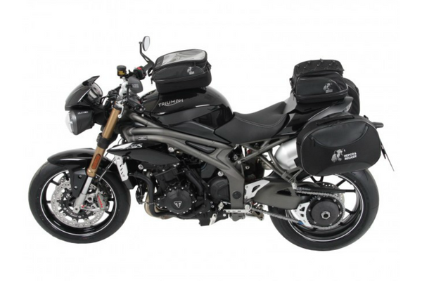 Triumph Speed Triple (1050) S/R Sidecases Carrier - C-Bow - Bike 'N' Biker