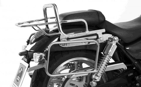 "Triumph Thunderbird 1600 Sidecases Carrier - Quick Release ""Lock It"" - Bike 'N' Biker"